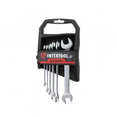 Набор рожковых ключей 6шт. 6-17мм Cr-V, покрытие сатин-хром DIN3110, STORM