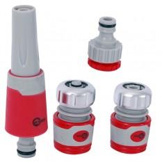 Насадка для полива с плавной регулировкой потока воды для конектора 1/2, адаптер универсальный для к