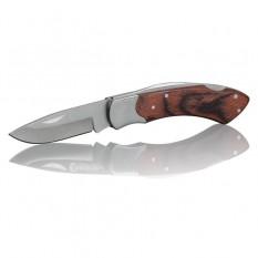 Нож складной 181 мм, ручка с деревянными вставками