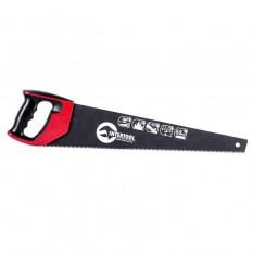 Ножовка по дереву 500мм с тефлоновым покрытием, каленый зуб, 3-ая заточка