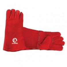 Перчатка замшевая 14 (красная)