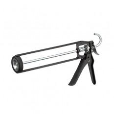 Пистолет для выдавливания герметиков рамообразный усиленный, 225мм, скелет