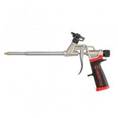 Пистолет для пены с тефлоновым покрытием держателя баллона + 4 насадки профессиональный