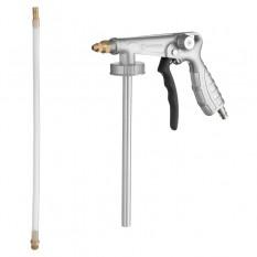Пистолет под гравитекс пневматический с гибкой насадкой