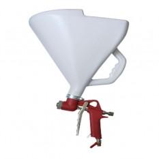 Распылитель штукатурный пневматический, три форсунки 468мм, В/Б пластмассовый, 9000мл, 3-6 атм