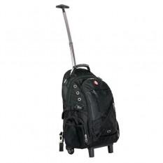 Рюкзак дорожный Intertool 3 отделения, 30 л. на колесах с телескопической ручкой