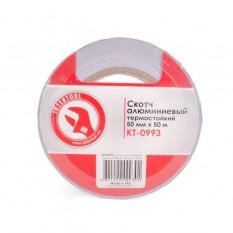 Скотч алюминиевый термостойкий 50 мм*50 м