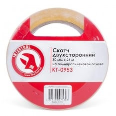 Скотч двухсторонний 50 мм*25 м на полипропиленовой основе