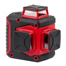 Уровень лазерный 360 град, 3 лазерные головки, зеленый лазер