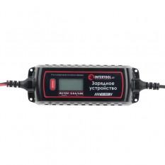 Устройство зарядное 6/12В, 0.8/3.8А, 230В, зимний режим зарядки, дисплей, емкость заряжаемого аккуму