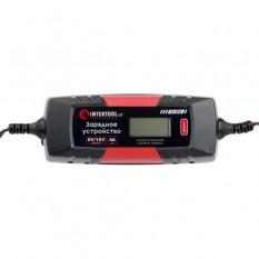 Устройство зарядное 6/12В, 4А, 230В, зимний режим зарядки, дисплей, емкость заряжаемого аккумулятора