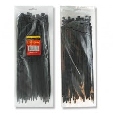 Хомут пластиковый 4,8x350мм, (100 шт/упак), черный