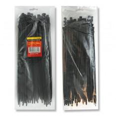 Хомут пластиковый 4,8x400мм, (100 шт/упак), черный