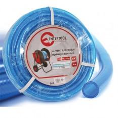 Шланг для воды 3-х слойный 3/4, 20м, армированный PVC