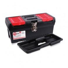 Ящик для инструментов с металлическими замками 16 396*216*164мм [BX-1016]
