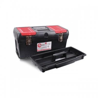 Ящик для инструментов с металлическими замками 19 483*242*240мм [BX-1019]