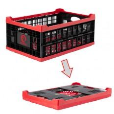 Ящик складной, пластиковый, загрузка 30 кг, 47 л., 600*400*260 мм, материал 100% первичный пищевой П