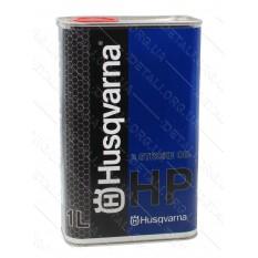 Масло для 2-х тактных двигателей ж/б Husqvarna 2T 1л квадрат / полусинтетика