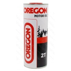 Масло для 2-х тактных двигателей ж/б OREGON 2T  1л круглая / минеральное