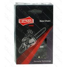 Цепь 50 звеньев (25 зубов) Winzor HARD Picco 91WH суперзуб шаг 3/8 паз 1,3