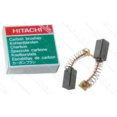 Щетки Hitachi 6,5х7,5х12,3 пружина аналог 999-072 (отстрел)