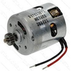 Двигатель 18V шуруповерта Metabo BS 18 LT оригинал 317003670 (d48 L75 18 зуб)