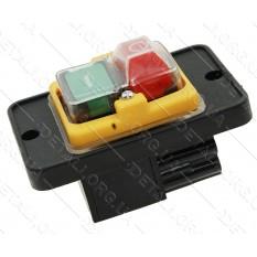 Кнопка бетономешалки 4 боковых контакта пластина 56*88 мм CK-5