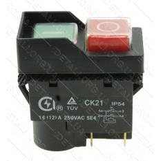 Кнопка бетономешалки 4 контакта 12A CK-21