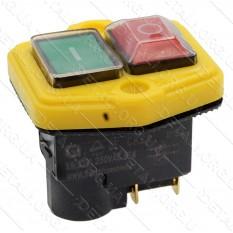 Кнопка бетономешалки 4 контакта 12A CK21E/4P (пластина 56*60)