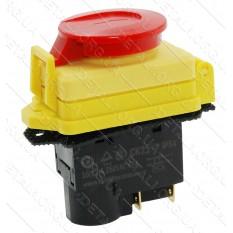 Кнопка бетономешалки 4 контакта 12A с крышкой CK21D