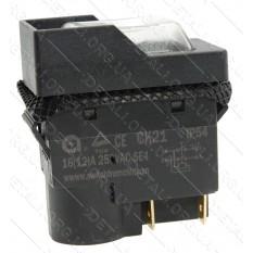 Кнопка бетономешалки 4 контакта 12A с пружиной CK21С