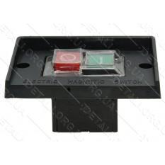 Кнопка бетономешалки 4 контакта пластина с буртом 60*95 мм CK-1