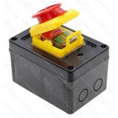 Кнопка бетономешалки в корпусе с крышкой 4 контакта 16A HCK5/4P