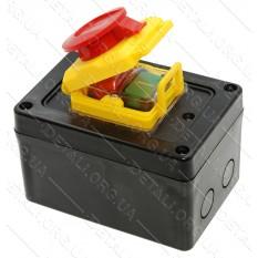 Кнопка бетономешалки в корпусе с крышкой 6 контактов 16A HCK5/6P