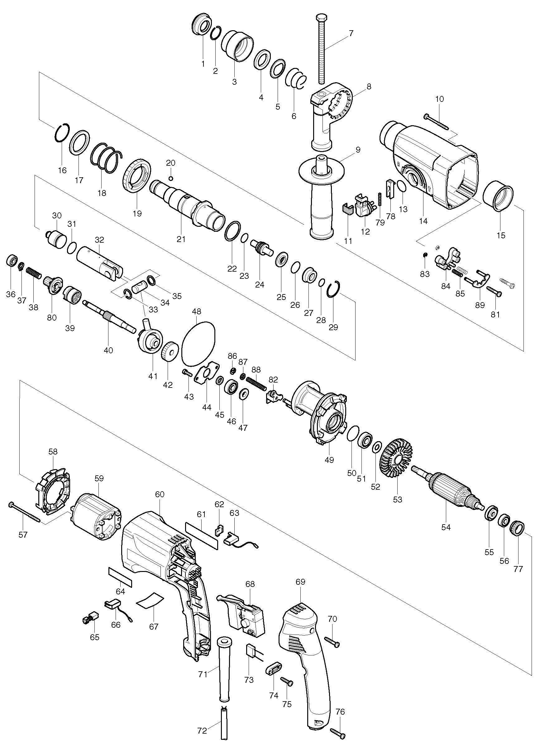 Электроинструмент схемы и сервис-мануалы
